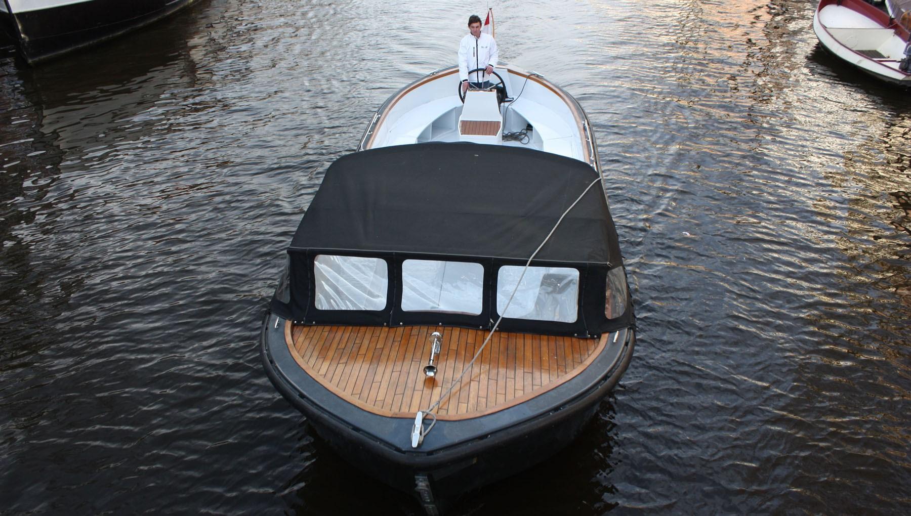 Amsterdam Boothuur - Sloep met schipper