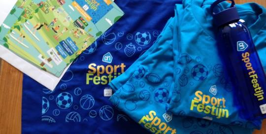 AH Sportfestijn promotieartikelen